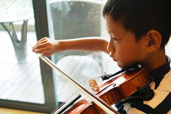 子供とバイオリン